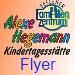 Der Flyer der Alexe Hegemann Kindertagesstätte als PDF-Datei