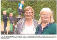 Ulla Hans und Rita Strecker